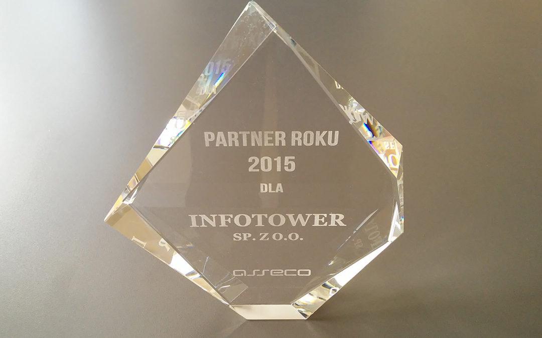 Infotower Partnerem Roku 2015 Asseco Poland S.A.